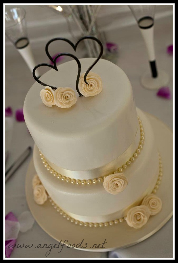 Wedding Cake Prices 56 Perfect Two tier wedding cake