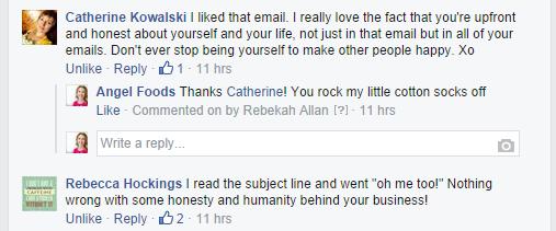 Selfish Bitch comments