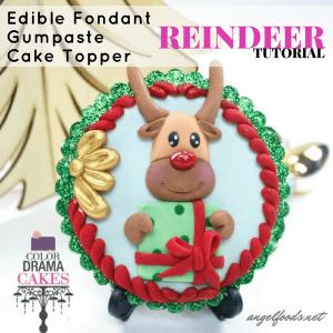 Edible Reindeer Cake Decoration : Decorating Tutorials Angel Foods