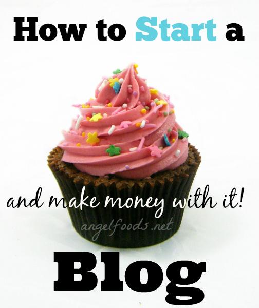 start food blog that makes money