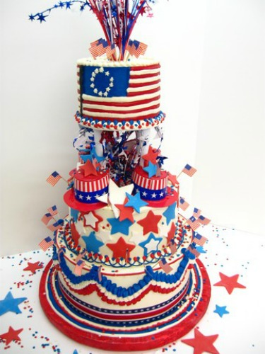 Cake Decorations For July 4th : 10Top 4th of July Cakes Angel Foods