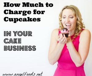 How Much to Charge for Cupcakes (and Cakes!)