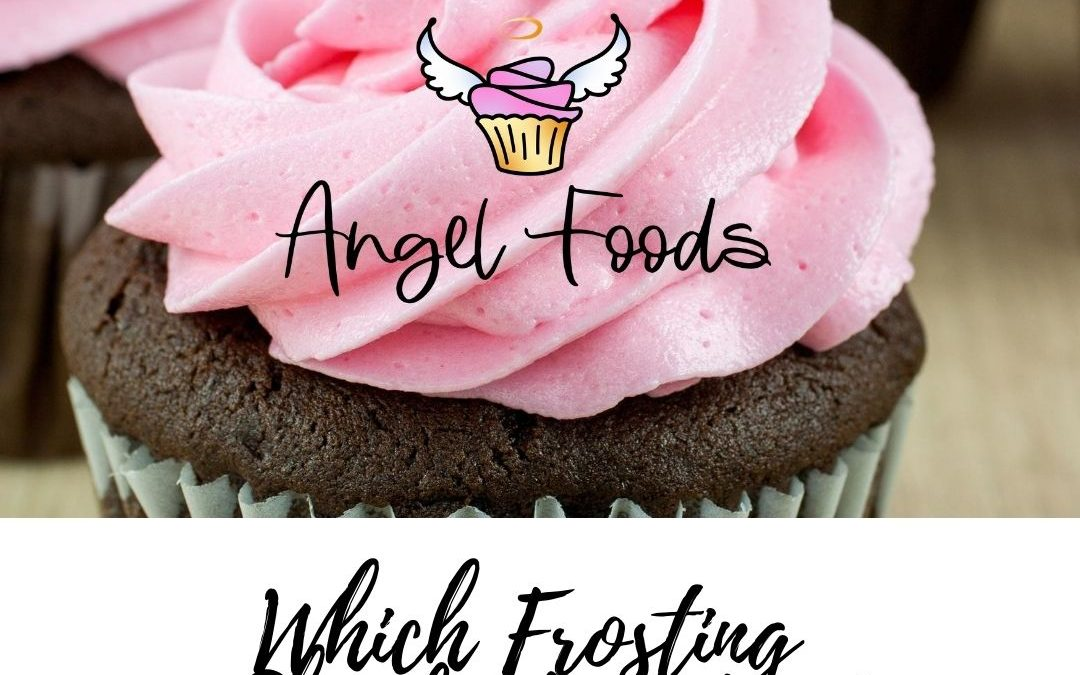 What kind of frosting should I use | Types of frosting | Cake decorating advice | What type of icing to use | Angel Foods | Cake Business School