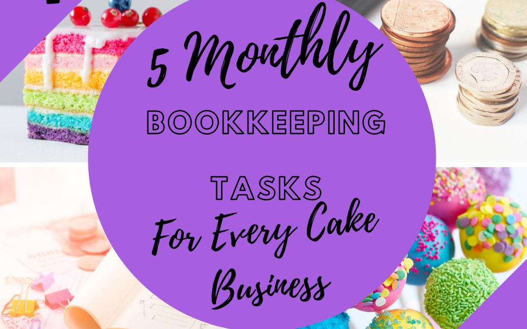 Bookkeeping for Bakers | Bookkeeping for Cake business | Cake Business Advice | Cake Business Tips | Angel Foods | Cake Business School