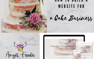 How To Build a Website (For a Cake Business)