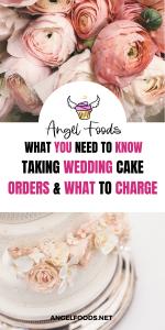 Taking Wedding Cake Orders | How to take wedding cake orders | Wedding Cake Tips | Wedding Cake Business | Angel Foods | Cake Business School | Cake Business Advice | Cake Business Tips