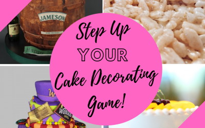 Step up your cake decorating game! Post #1